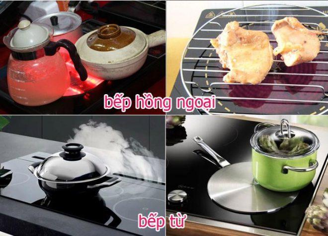 Nên chọn bếp điện từ hay bếp hồng ngoại?