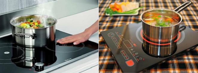 Cả 2 loại bếp đều có những ưu điểm vượt trội về thiết kế đến chất lượng sản phẩm