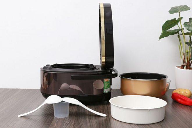 Nồi cơm điện cao tần sử dụng công nghệ nấu tiên tiến của Nhật Bản