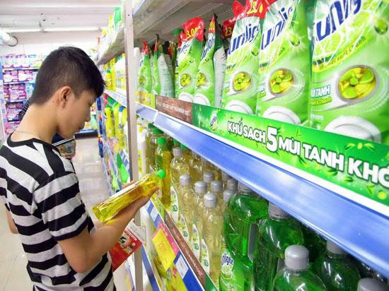 Nước rửa chén Sunlight được bán chạy nhất