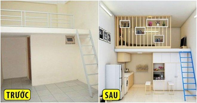 phòng trọ được thiết kế theo phong cách chung cư mini