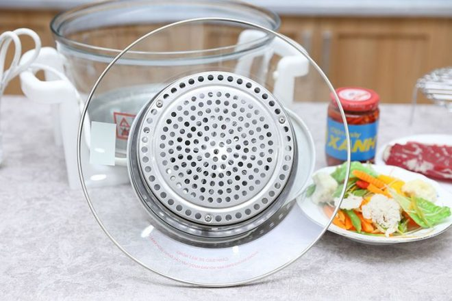 Quạt đối lưu của lò nướng dễ bị hỏng khi nhiễm nước