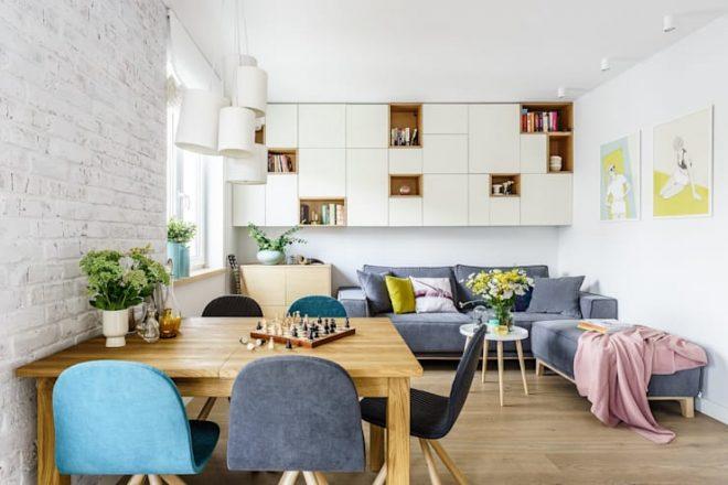 Phòng khách by Saje Architekci Joanna Morkowska-Saj
