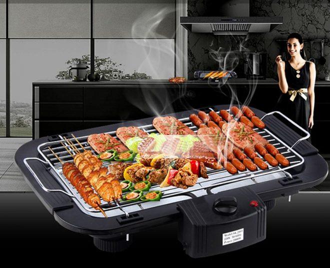 Sử dụng bếp nướng điện như thế nào để đảm bảo an toàn?