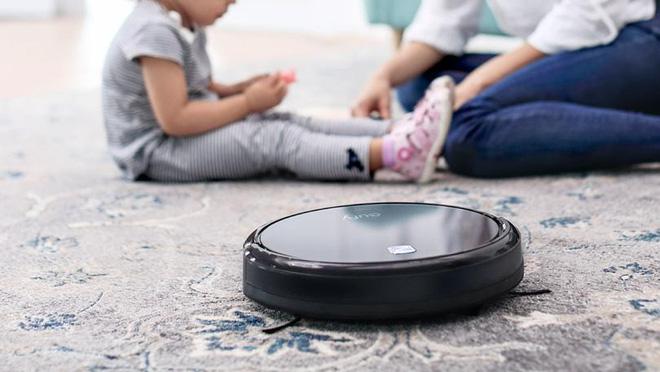 Robot hút bụi có tên tiếng Anh là Robotic Vacuum Cleaner