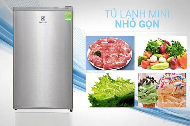 Tủ lạnh Mini Electrolux EUM0900SA (90 lít)