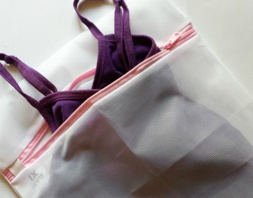 Loại túi/bóng giặt chuyên dụng sẽ bảo vệ phom dáng của những chiếc áo lót