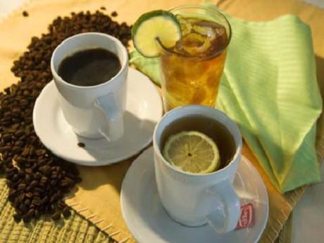 Cà phê, trà đặc không nên dùng