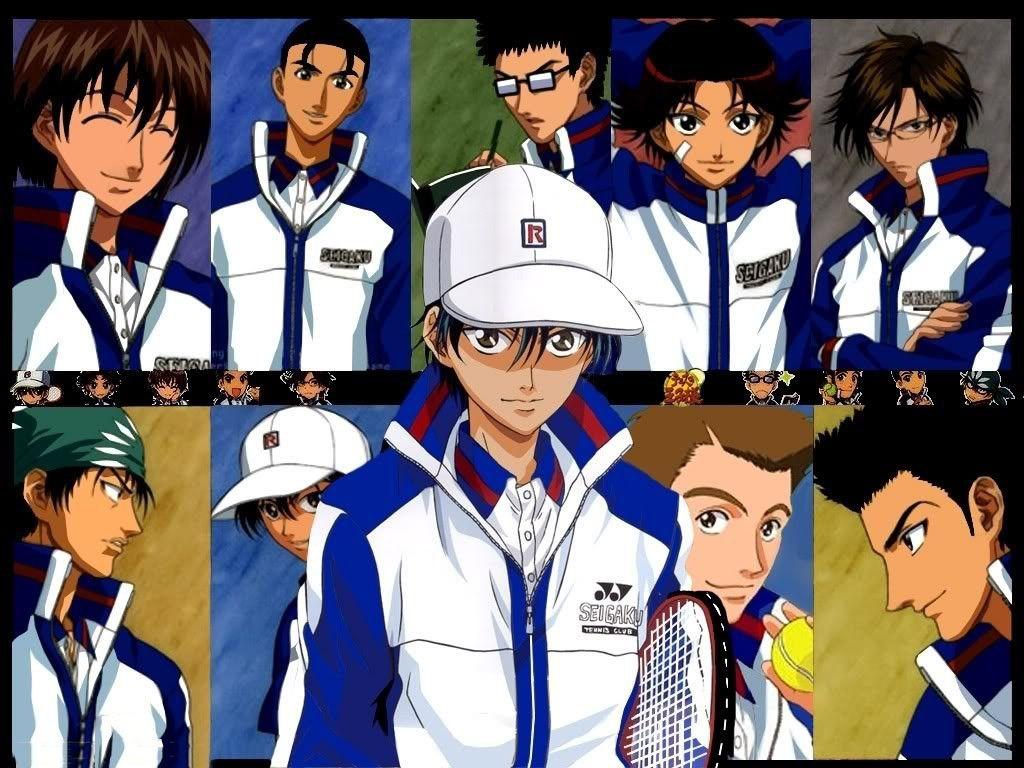9 thành viên trong câu lạc bộ Tennis trường Seigaku cùng nhau đi đến giải Quốc gia