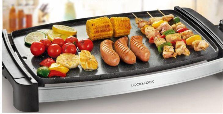 Với thiết kế sang trọng, trang nhã và tinh tế, bếp nướng điện Lock&Lock sẽ đem lại sự sang trọng cho căn bếp của bạn