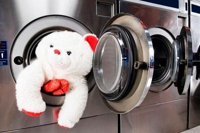 Làm sạch thú nhồi bông bằng máy giặt1