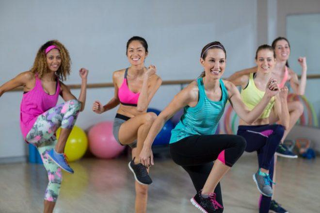 Aerobic giúp giảm cân, hoàn thiện bóc dáng