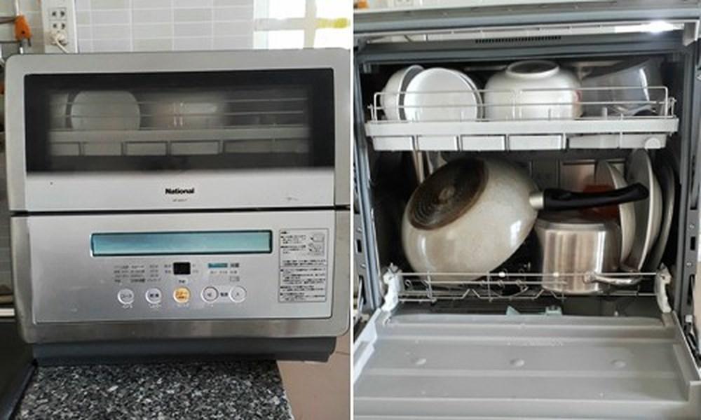 Khay rửa là bộ phận nằm bên trong khoang rửa