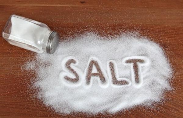 Trên sản phẩm thật, đường ép có hiện mờ mờ chữ muối