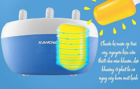 Máy làm kem Kahchan áp dụng công nghệ hiện đại