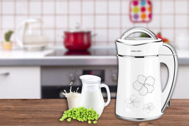 Máy làm sữa đậu nành giúp ta tiết kiệm được nhiều thời gian hơn