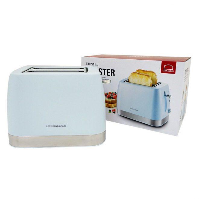 Máy nướng bánh mì Lock& Lock EJB221BLU có gì nổi bật?
