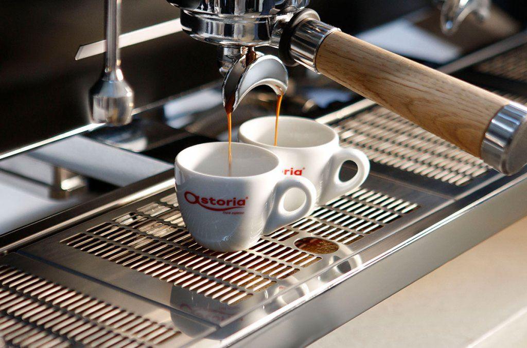 Astoria là thương hiệu máy pha cà phê chuyên nghiệp