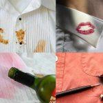 Mẹo tẩy vết bẩn trên quần áo