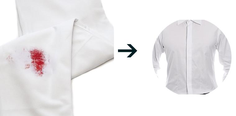 Vết máu sẽ làm hỏng cả bộ quần áo nếu không biết cách tẩy rửa