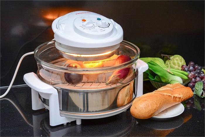 Lò nướng đa năng được làm từ thủy tinh trong suốt