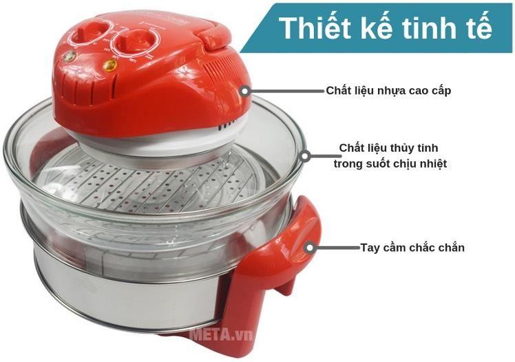 Lò nướng thủy tinh Tiross TS967
