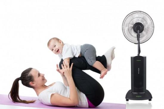 Sử dụng quạt tiết kiệm điện mà không lo bị ốm