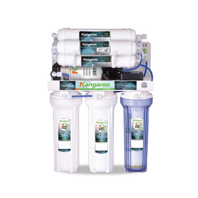Máy lọc nước Kangaroo Hydrogen Plus KG100HP không vỏ tủ