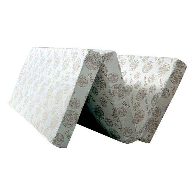 Nệm bông ép gấp 3 Everon Ceramic EVCM185 (180 x 195 x 5 cm)