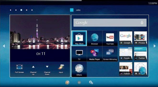 Hệ điều hành android trên tivi