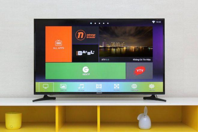 Loại tivi ứng dụng hệ điều hành Android gốc