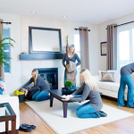 Bí kíp dọn dẹp phòng khách ngày Tết cực dễ