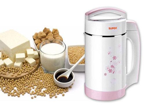 Dung tích là một trong những tiêu chí rất đáng quan tâm khi lựa chọn máy làm sữa đậu nành