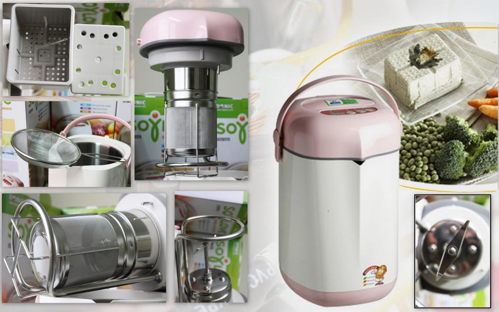 Sử dụng máy làm sữa đậu nành