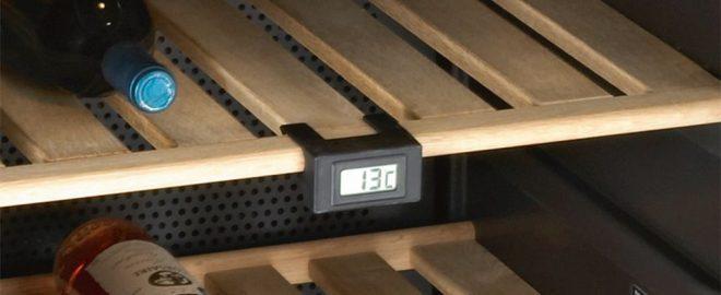 Có nhiều mức nhiệt độ từ 5 đến 22 độ C được điều khiển bằng điện tử giúp bạn kiểm soát nhiệt độ tốt.