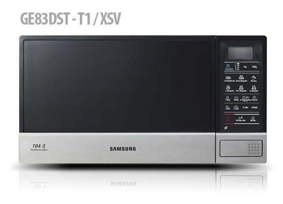 Lò vi sóng Samsung có thiết kế nhỏ gọn, bảng điều khiển điện tử, lại là thương hiệu lớn, nên rất được khách hàng ưa chuộng.