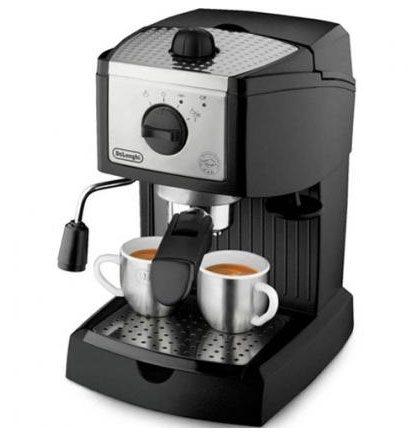 Máy pha cafe bán tự động.