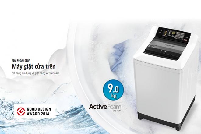 Máy Giặt Cửa Trên PanasonicNA-F90A4GRV.