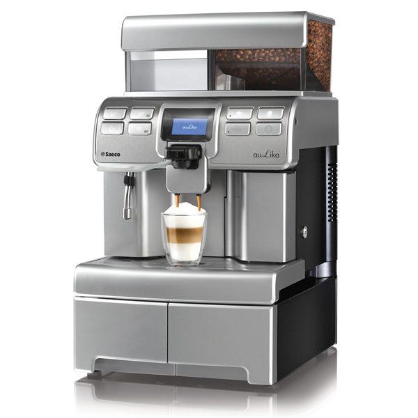 Máy pha cafe tự động.