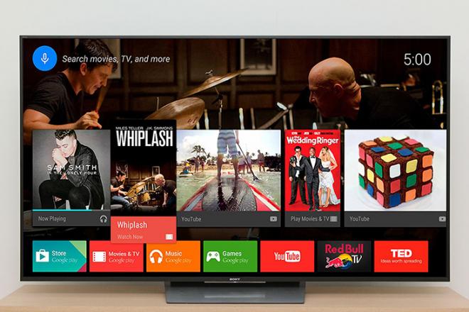 Loại dùng hệ điều hành Android gốc, do chính Google tối ưu riêng cho tivi