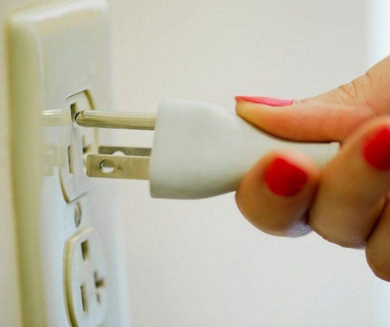 ngắt nguồn điện khi không sử dụng