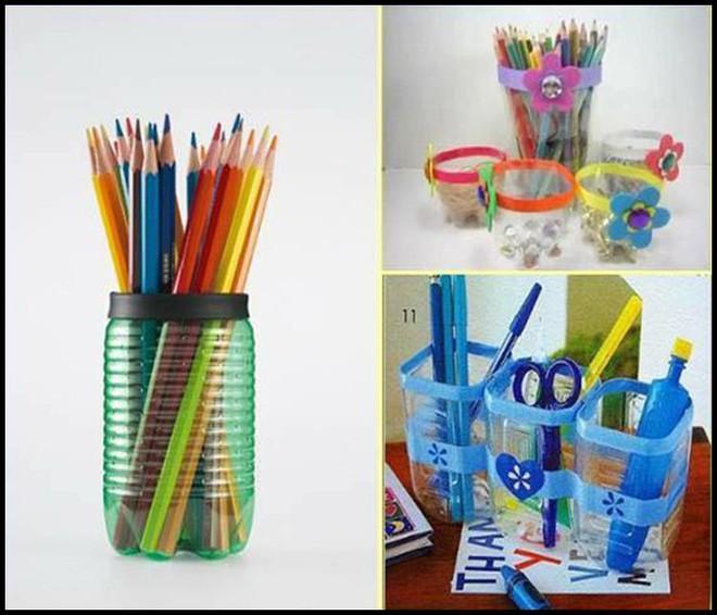 Muôn vàn cách tái chế đồ dùng độc đáo, hay ho từ chai nhựa bỏ đi - Ảnh 3.