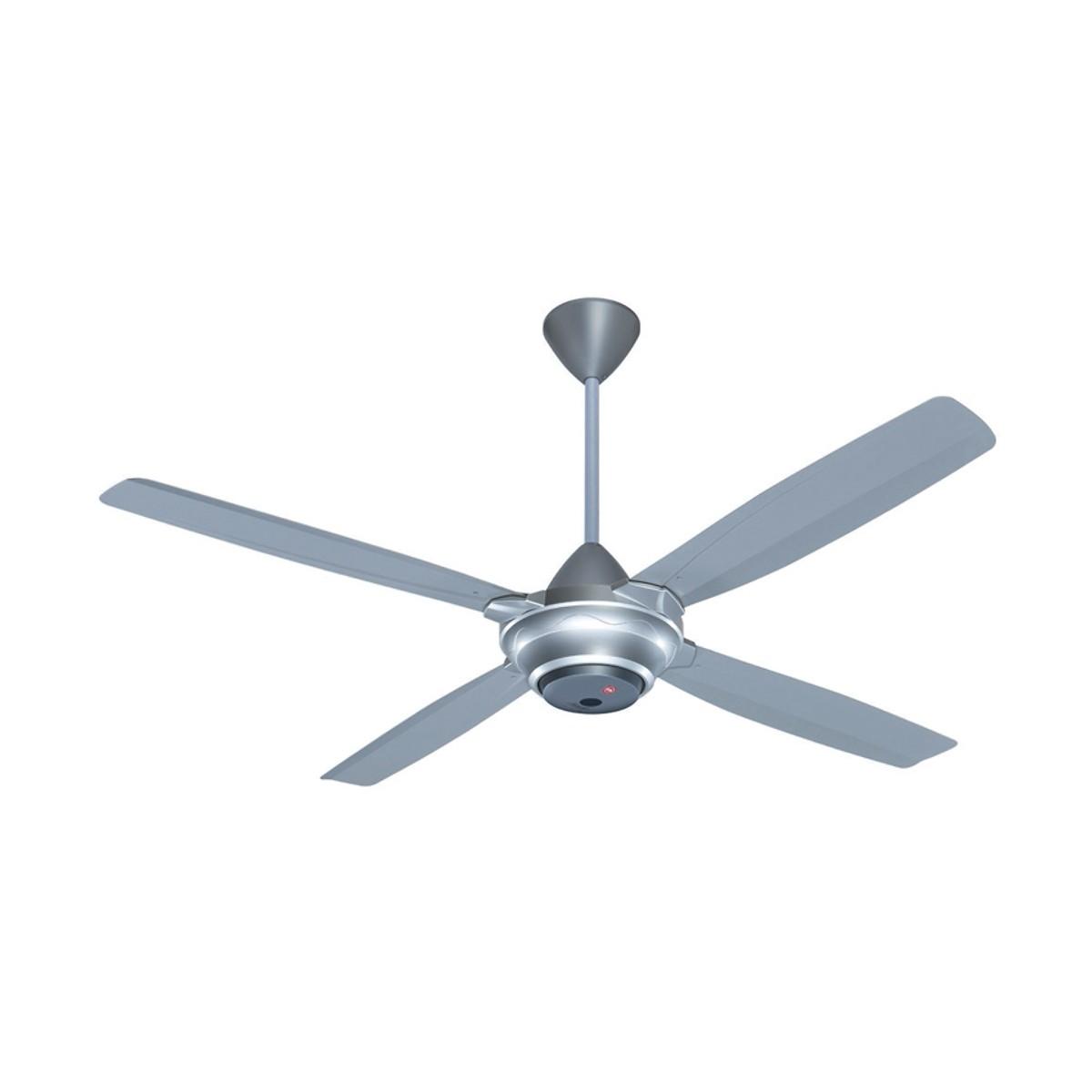 Phổ biến nhất là các loại quạt trần 4 cánh và 5 cánh