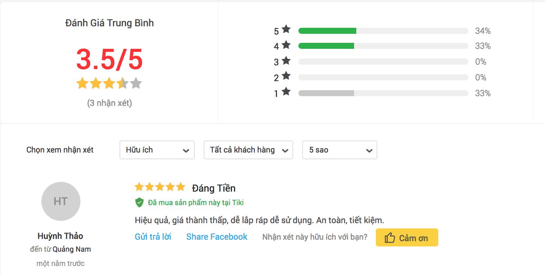 Đánh giá của người sử dụng tủ sấy quần áo Sunhouse SHD2610 trên Tiki.
