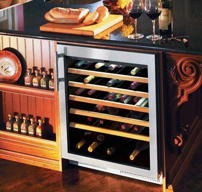Tủ ướp rượu vang dành cho gia đình.