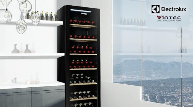 Tủ ướp rượu vang được ra đời nhằm mục đích bảo quản thật tốt loại thức uống thượng hạng của tầng lớp thượng lưu.