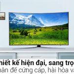 Có nên mua Smart Tivi Cong Samsung 55 inch UA55JU6600 ? Review chi tiết