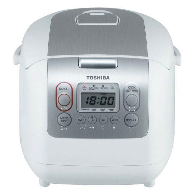 Nồi cơm điện tử Toshiba RC-18NMFVN(WT) (1.8L) - Trắng