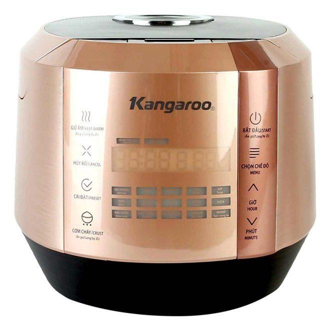 Nồi cơm điện tử Kangaroo KG596 (1.5L) - Hồng