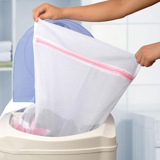 Túi dạng lưới có khóa kéo để giặt